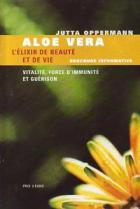 Livre sur les bienfaits de l'Aloe vera: « Aloe Vera L'Elixir de Beauté et de vie » du Professeur Jutta Opperman.